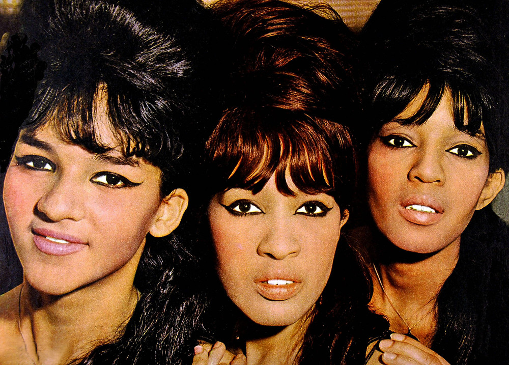 Photo of RONETTES; Veronica Bennett, Estelle Bennett and Nedra Talley - Group portrait -SoundIdentity blog