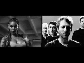 How far do you have to go to promote a new album?! Radiohead and Beyoncé included