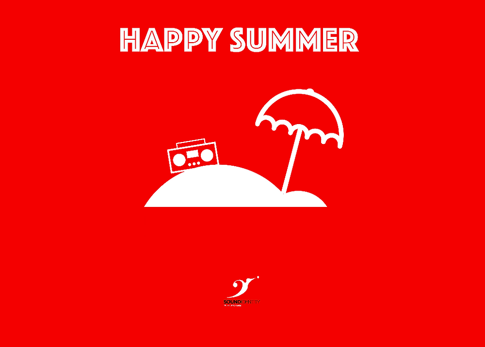 Keep calm and see you in September! - sound identity happy summer