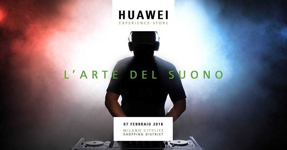 L'Arte del Suono, un corso sulla musica elettronica con Huawei e Stylophonic, sound identity, citylife, milano