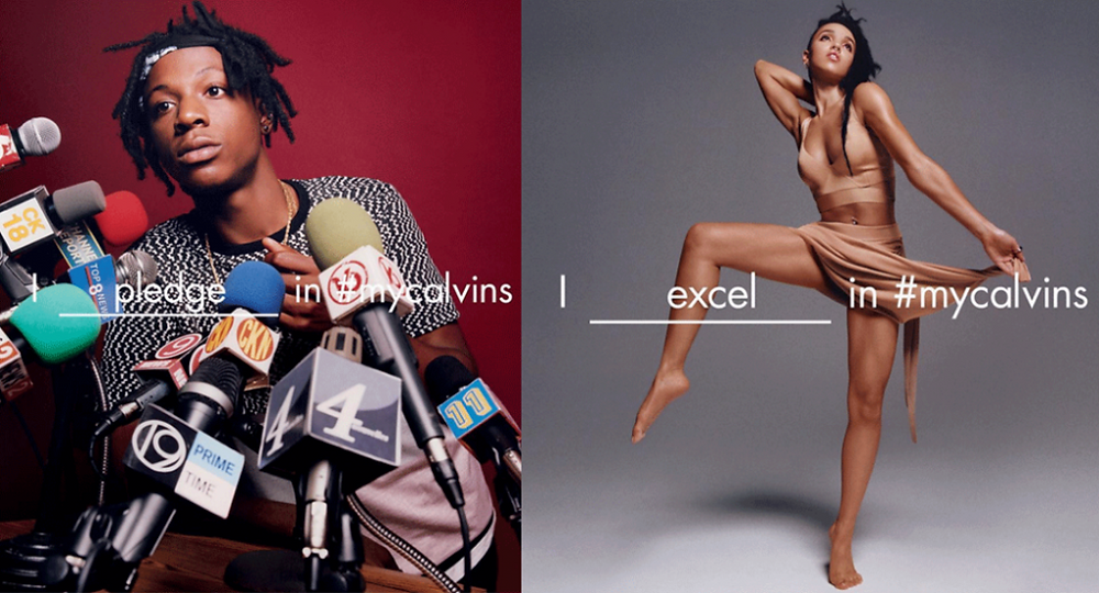 Calvin Klein and the involvement of music stars - digital viral campaign, marketing, sound, music, promotion - Blog Sound Identity