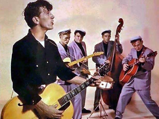 Be Bop-A-Lula, by Gene Vincent, a rebel song to compete against Elvis Presley - sound identity blog #tbt