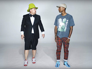 James Corden stars in a funny Apple Music ad with Pharrell cameo