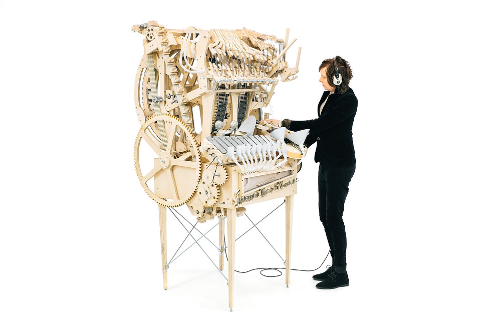 Marble Machine Martin Molin Wintergatan sound identity blog