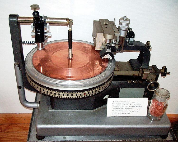 disc cutting lathe Neumann TELDEC-DMM - post sound identity blog