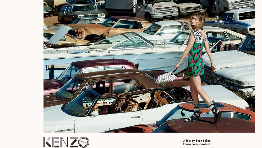 Snowbird Kenzo fashion film sean baker sound identity blog