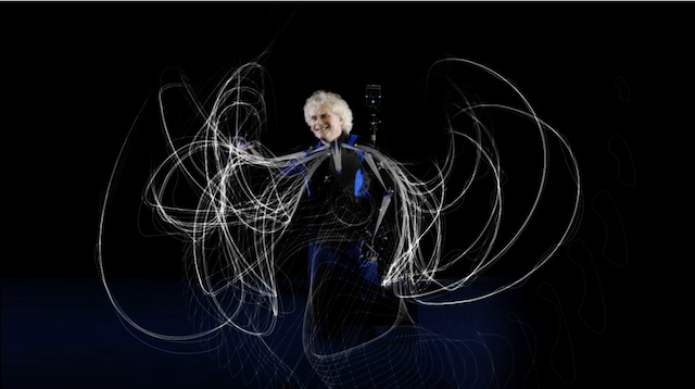 Motion becomes music becomes image with the Visualizing Motion and Music by  Tobias Gremmler