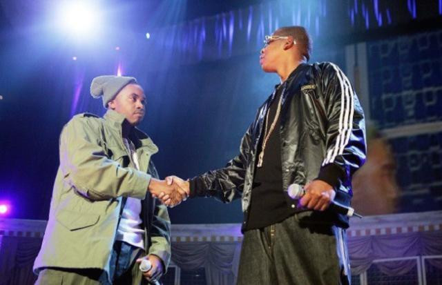27 October 2005, the battle between Jay Z and Nas ends - hip-hop beef - tbt - Sound identity music blog - marketing adv promotion
