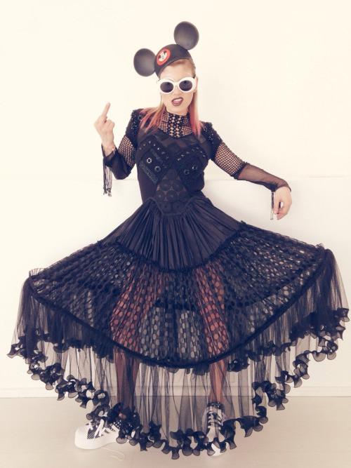 Emma Marrone styled by Nicolò Cerioni Stylist creative duo SUGARKANE - the music stylist - sound identity blog
