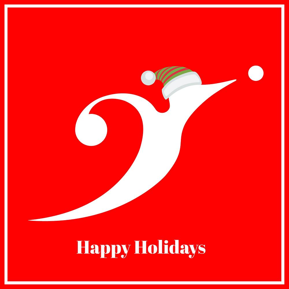 happy holidays and merry christmas xmas - sound identity music blog sound branding audio engineering sound design marketing brand