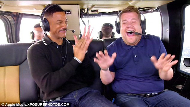 A lot of celebrities in First 'Carpool Karaoke: The Series' Trailer by Apple - James Corden, Will Smith - sound identity musicmatters soundbranding sound design