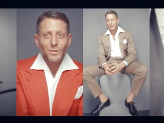The confessions of Lapo Elkann at Rolling Stone caught in the backstage video by Marco Rubiola with