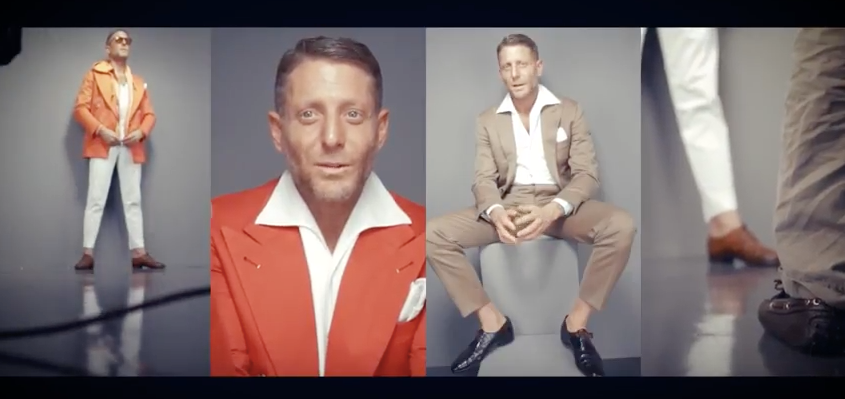 Marco Rubiola video, Lapo Elkann, Rolling Stone, magazine, backstage cideo, music, soundtrack by Sound Identity