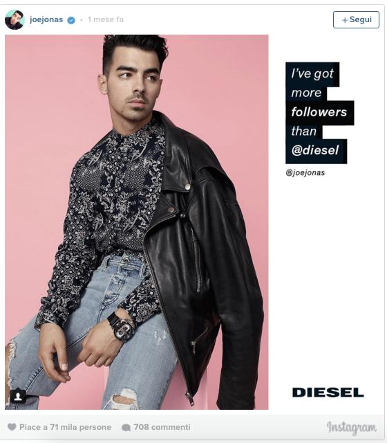 How daring brands use social media: sexting and Botticellian springs - JoeJonas Diesel digital adventure, advertising, campaign, marketing, viral, art. branding - Sound Identity blog