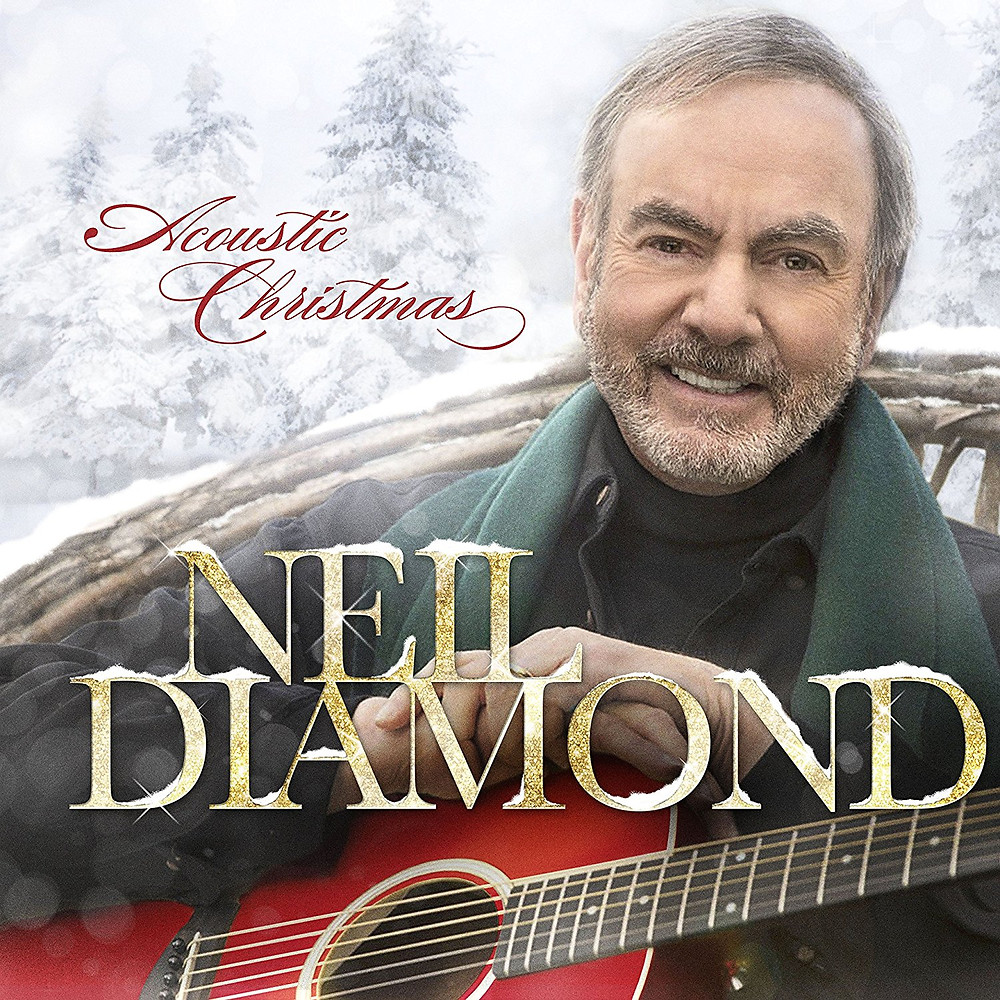 "christmas gift, xmas, Neil Diamond ""Acoustic Christmas"" - music gift - sound identity"