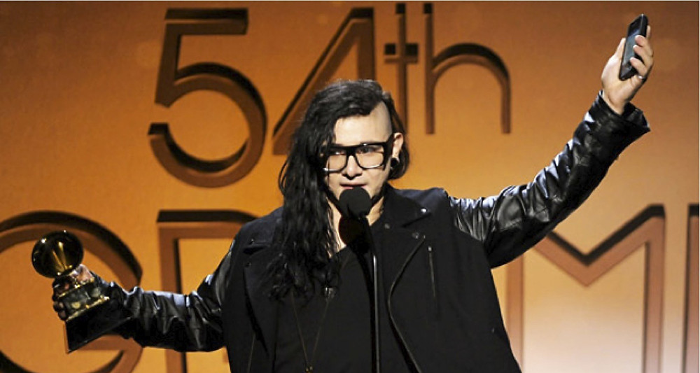 TBT Skrillex, the DJ of Grammys' records,  GRAMMY Awards - dj best new artist #tbt