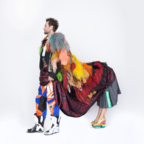 Lorenzo Cherubini Jovanotti styled by Nicolò Cerioni Stylist creative duo SUGARKANE - the music stylist - sound identity blog