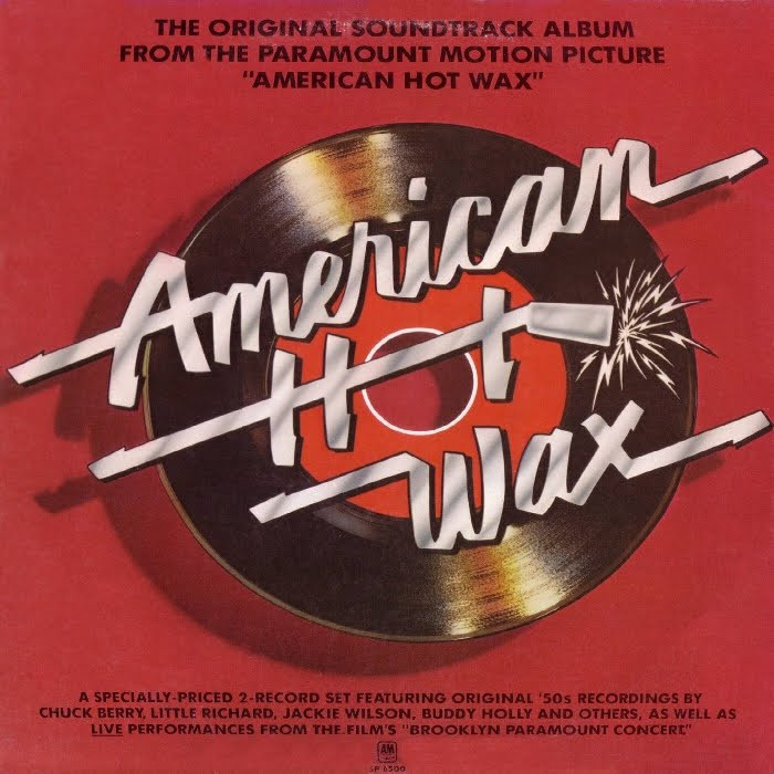 american hot wax - rock and roll music film directed by Floyd Mutrux, Alan Freed against payola - album cover - sound identity blog