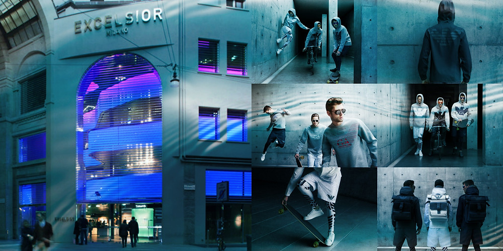 Sound Identity lights up Excelsior Milano with the Remix Emporio Armani – Antonia collaboration - sound identity blog