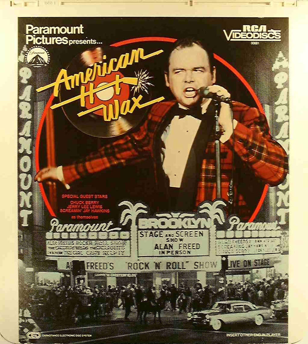 american hot wax - rock and roll music film directed by Floyd Mutrux, Alan Freed against payola - film poster - sound identity blog