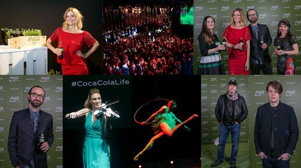 Launch party Coca Cola Life - taste the feeling campaign, advertising, marketing, promotion, branding - filippa lagerback, Elsa Martignoni, stefano fontana, soundtrack by sound identity - Blog Sound Identity