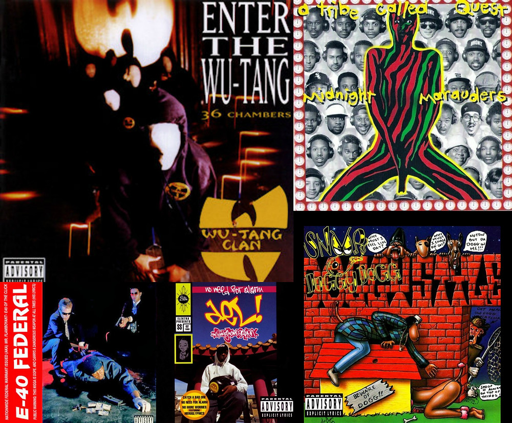 5 Reasons why November 1993 was a hip-hop big deal - wu-tang clan enter the wu-tang; a tribe called quest, midnigth marauders album, 40 federal, snoop dog doggystyle album, Del Tha Funkee Homosapien - No Need for Alarm - sound identity music blog tbt music business soundbranding sound design