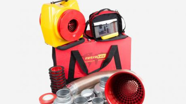 Retrotec 351 DucTester Buildingdoctor