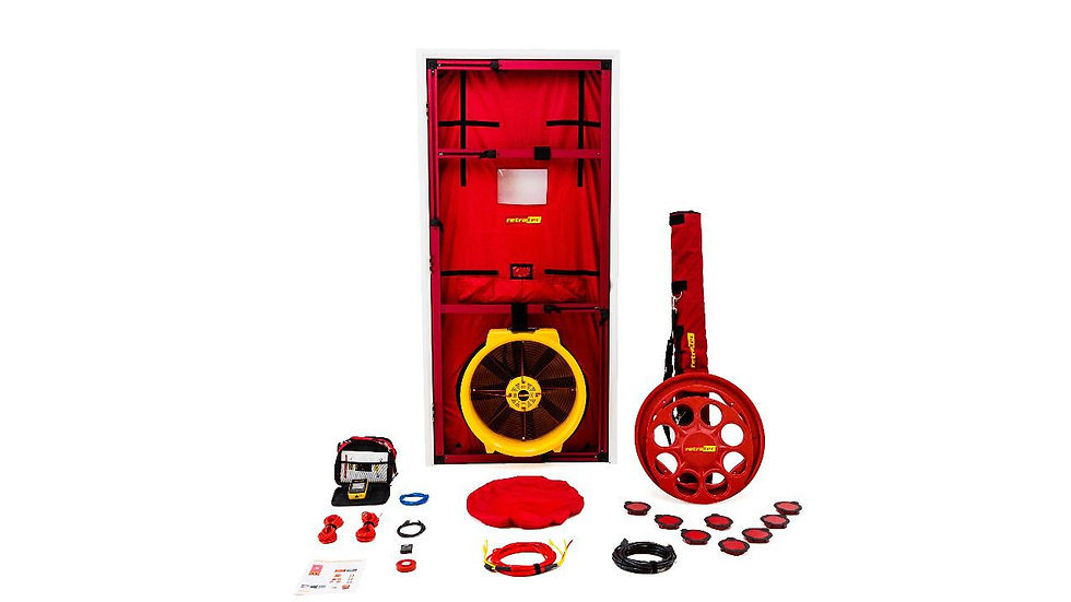 Retrotec 5100 - Residential Blower Door System - Starting at 19500AED