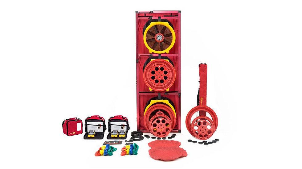 Retrotec 5300 - Triple Fan Blower Door System