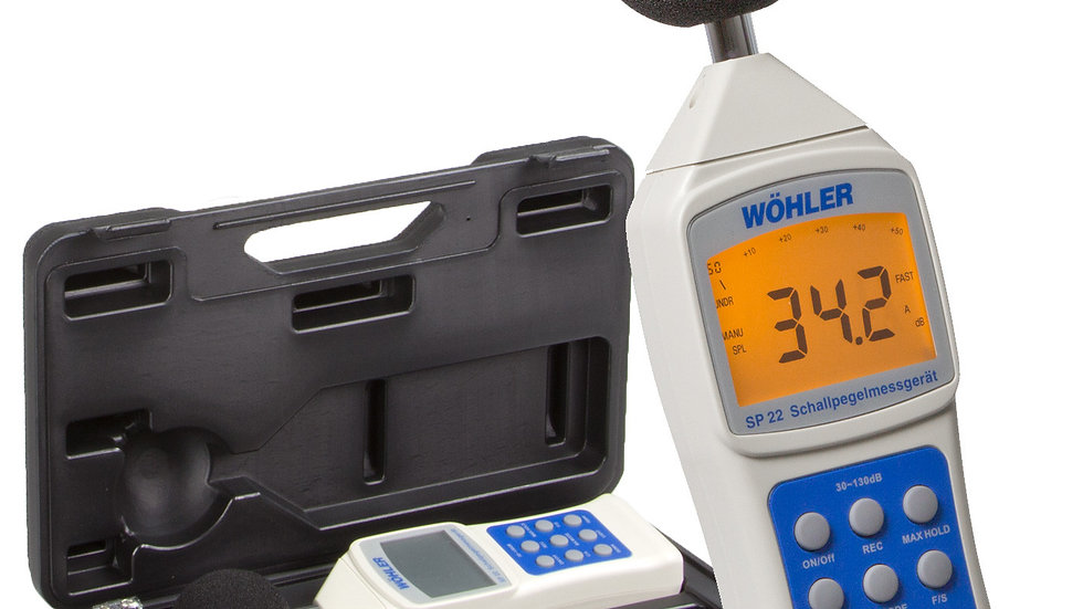 Wohler  Sound level meter Buildingdoctor