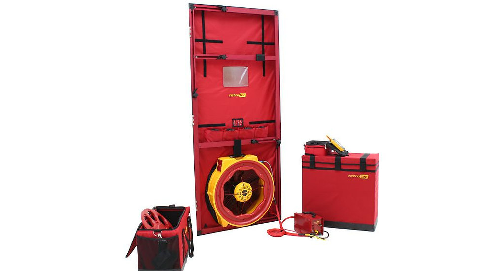 Retrotec 6100 - High Pressure Blower Door System