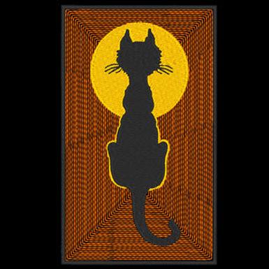 Halloween Cat 1 Design