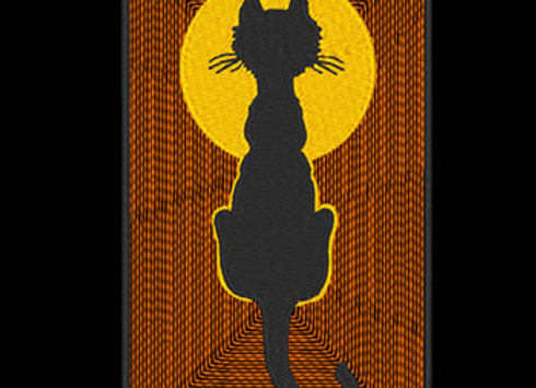 Halloween Cat 1 Design