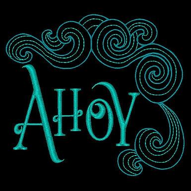 Ahoy Word Design