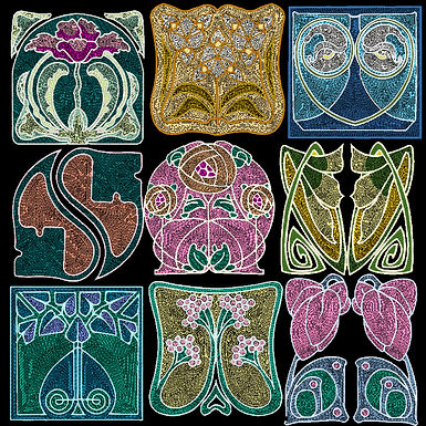 Art Nouveau Tile Collection