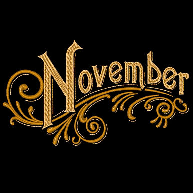 Months of the Year - November