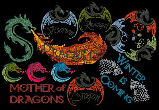 Dragons of Westeros All