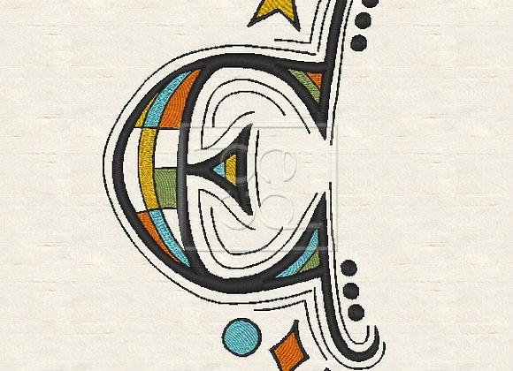 Zen Alpha Letter E