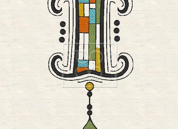 Zen Alpha Letter I