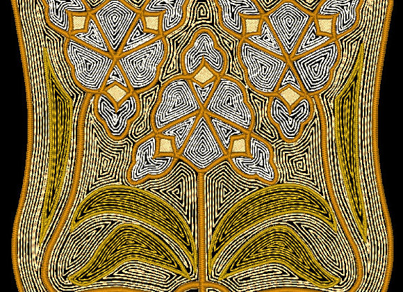 Art Nouveau Tile Design 2