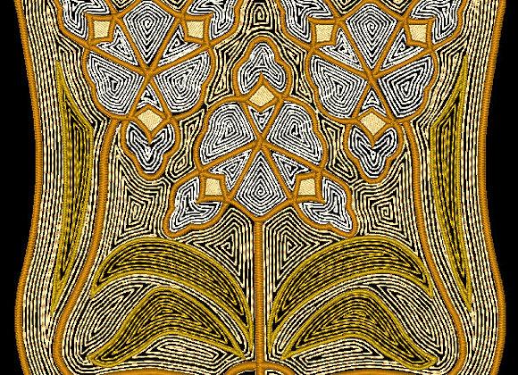 Art Nouveau Tile Design 2