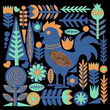 Birds & Blooms Design 4 Image