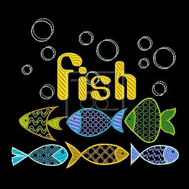 6 Fishies Design