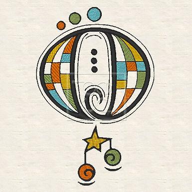 Zen Alpha Letter O