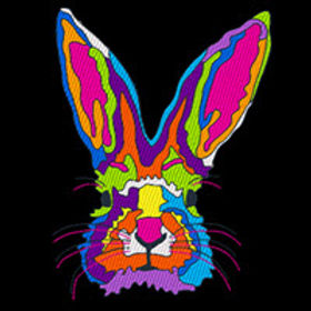 Pop Art Rabbit