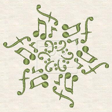 Music Snowflake 4