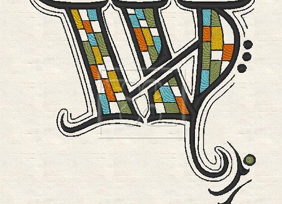 Zen Alpha Letter W
