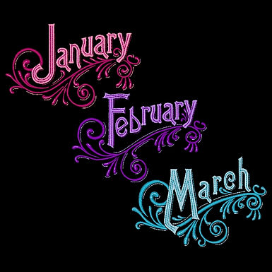 Months of the Year - All