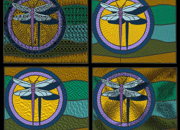Stained Glass - Dragonfly Designs