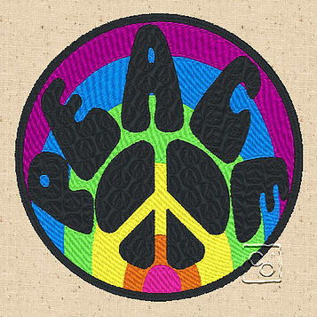 Free Peace Sign Design 3